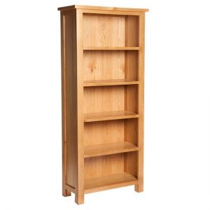 Lexington Wooden Bookcase In Oak With 5 Shelves