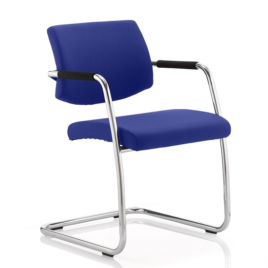 Marisa Office Chair In Serene With Cantilever Frame
