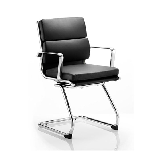Savoy Black Cantilever Office Chair