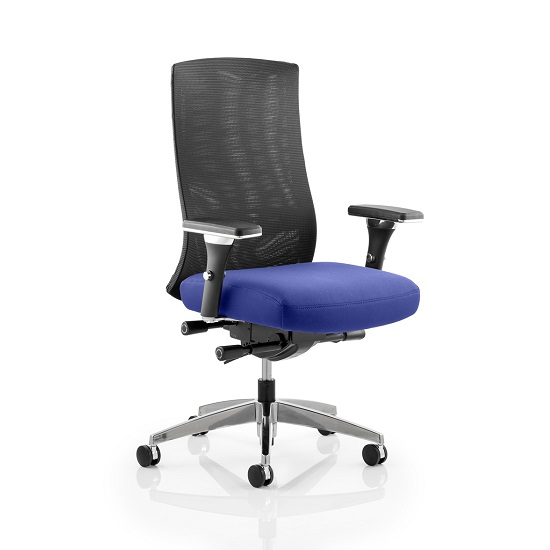 Scarlet Home Office Chair In Serene With Castors