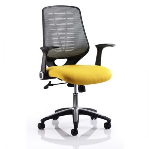 Sprint Airmesh Office Chair YEL
