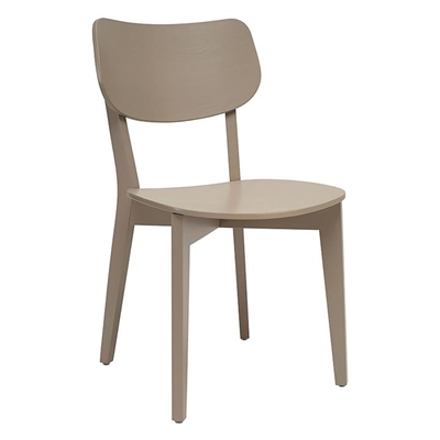 Veronica Dining Chair, Taupe Grey