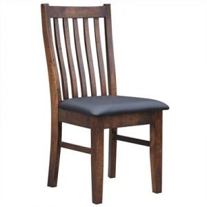 Artemis Pine Timber Dining Chair with PU Seat