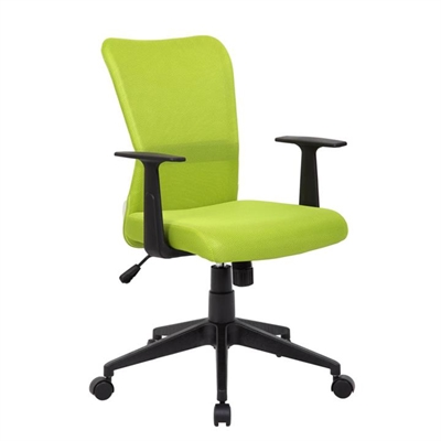 Ashley Fabric Office Chair, Lime Green
