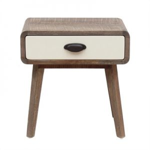 Axminster Hand Crafted Mango Wood Timber Nightstand