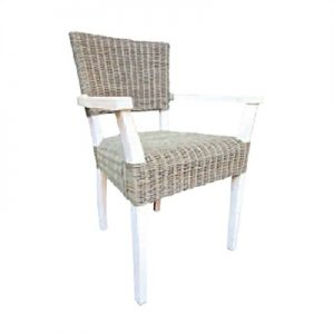 Cane Design Paragon Carver Dining Chair in Grey
