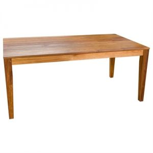 Casarano Tasmanian Blackwood Timber Dining Table, 210cm