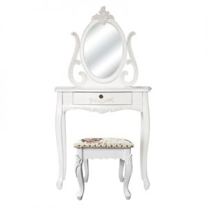 Garches Dressing Table with Carville Dressing Stool