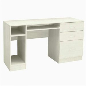 King Kong 130cm Computer Desk - White