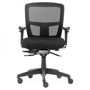 Miami II Fabric Office Chair with Arms