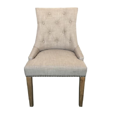 Morell Fabric Dining Chair, Beige