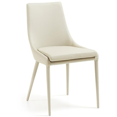 Petiver PU Leather Dining Chair, Pearl