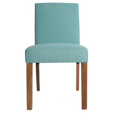 Tom Fabric Dining Chair, Turquoise