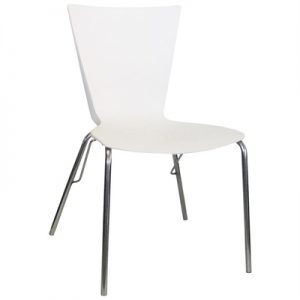 Tremont Commercial Grade Dining Chair, Cream