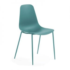 Wynifred Dining Chair, Turquoise