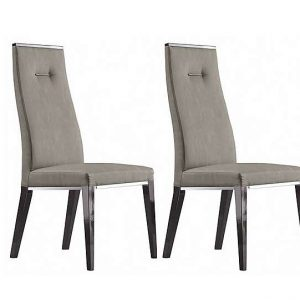 ALF - Avellino Pair of Dining Chairs - Grey