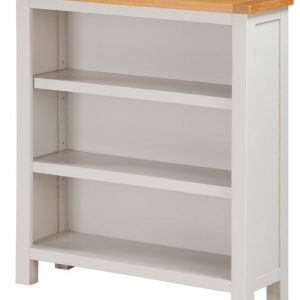 Annaghmore Hartford Two Tone Painted Bookcase - Low