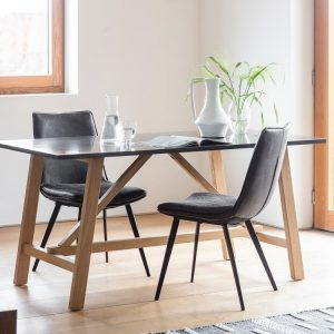 Brixton Dining Table - Gallery Frank Hudson