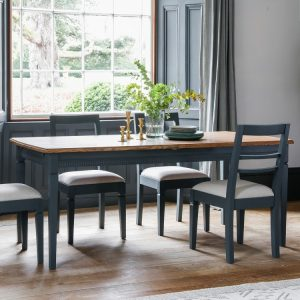 Bronte Storm Dining Table - Gallery Frank Hudson