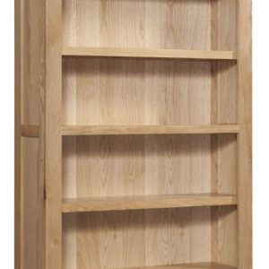 Dorset Oak 6 Shelves Bookcase By Devonshire