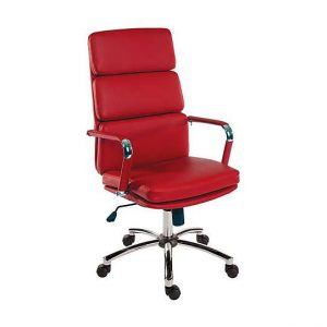 East River Pier 15 Office Chair - Red - By Furniture Village