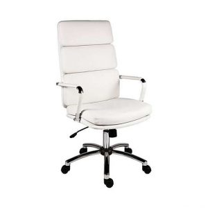 East River Pier 15 Office Chair - White - By Furniture Village