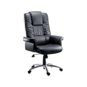 East River Pier 17 Office Chair - Black - By Furniture Village