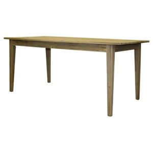 Flinders Recycled Elm Timber Dining Table, 150cm