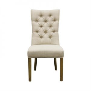 Henry Fabric Dining Chair, Oatmeal