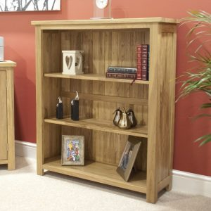 Homestyle Opus Oak Small Bookcase