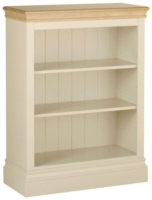 Lundy Painted Pine 3ft Bookcase By Devonshire