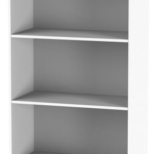 Ready Assembled Vienna Porcelain Bookcase - 2 Shelves - Welcome Furniture