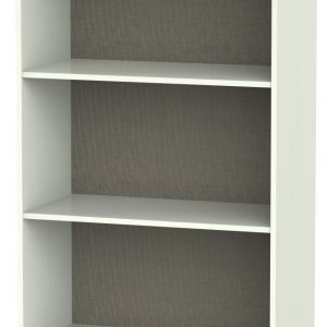Rome Porcelain Ash Bookcase - 2 Shelves - Welcome Furniture