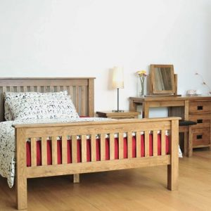 Rustic Oak Bedroom Set