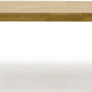 Vida Living Annecy Oak Rectangular Fixed Top Dining Table - 120cm