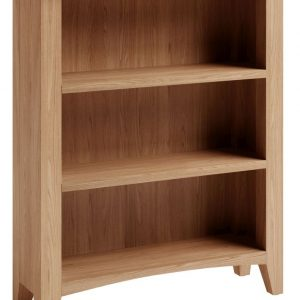 Albury Light Oak Wide Bookcase