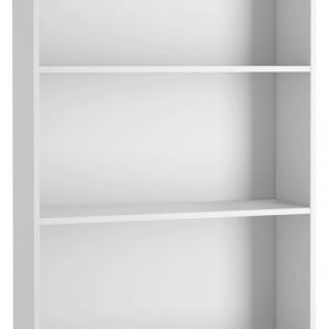 Neston White Tall Wide Bookcase