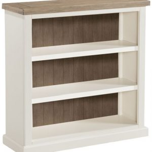 Annaghmore Santorini Painted Bookcase - Low