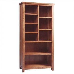 Cooper Solid Mountain Ash Timber Bookcase