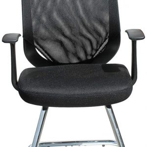 Alphason Atlanta Black Mesh Office Chair - AOC9201-V-BLK