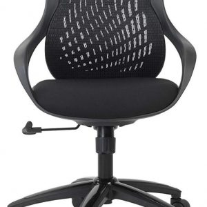 Alphason Croft Black Mesh Office Chair - AOC1010-M-BLK