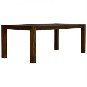 Arcadia Solid Timber Dining Table, 180cm, Aged Walnut