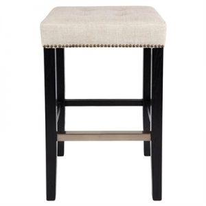 Canyon Bar Stool, Natural Linen