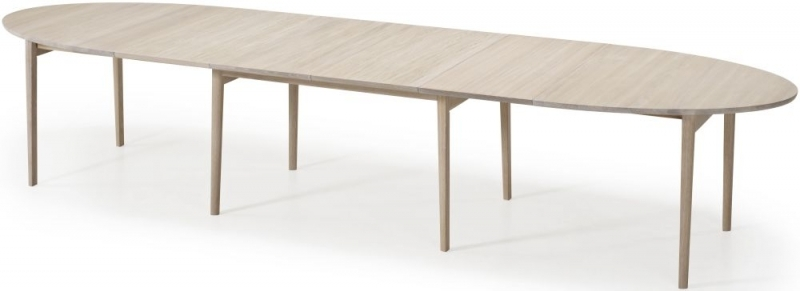 Skovby SM78 Ellipse Dining Table - 6 to 16 Seater Extending