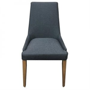 Georgia Fabric Dining Chair, Grey