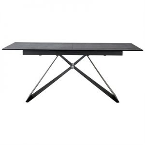Otto Ceramic & Metal Extension Dining Table, 180-240cm