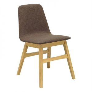 Cove Dining Chair, Natural/Chestnut