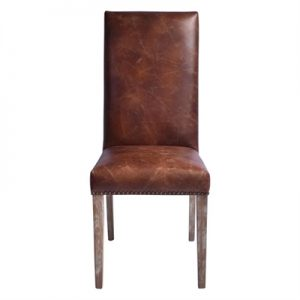 Cuxton Leather Highback Dining Chair