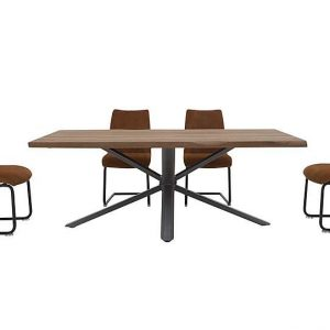 Habufa - Philadelphia Dining Table and 4 Dining Chairs - 250-cm