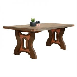 Avila Mountain Ash Timber Dining Table, 240cm